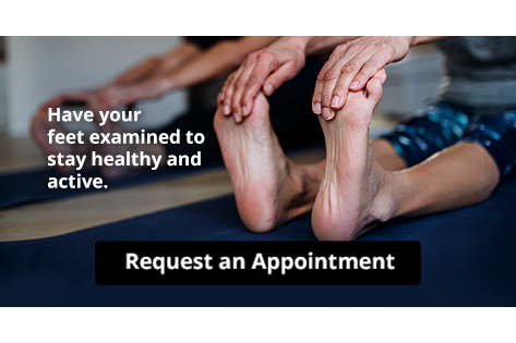 Keep Your Feet Healthy So You Can Stay Active